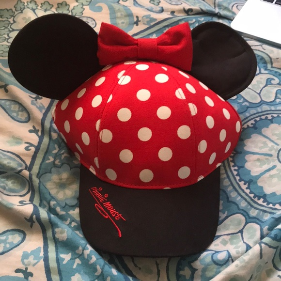 362a59f0701 ... store disney minnie mouse hat 59a25 7befe italy black baseball ...